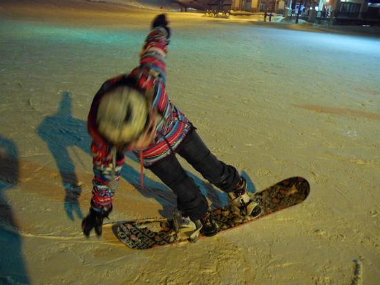 非圧雪すごい!!|斑尾高原スキー場のクチコミ画像2