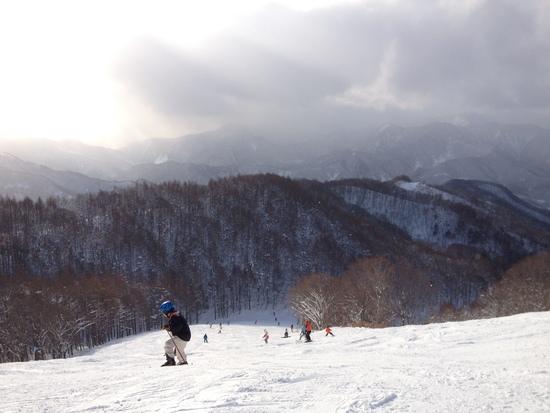 雪質良好!初心者から上級者まで楽しめるスキー場です!|水上宝台樹スキー場のクチコミ画像1