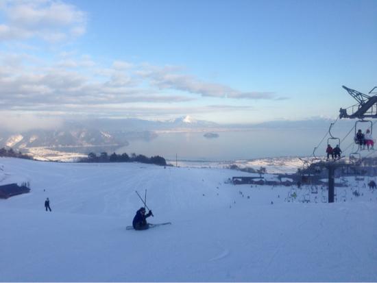 良い天気でした。|箱館山スキー場のクチコミ画像