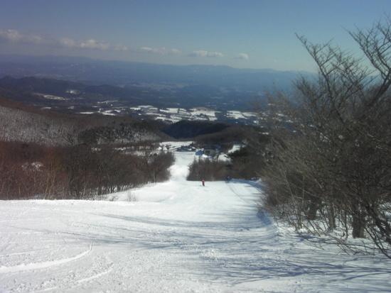 またしても天気サイコー! あだたら高原スキー場のクチコミ画像1