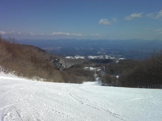 またしても天気サイコー! あだたら高原スキー場のクチコミ画像2