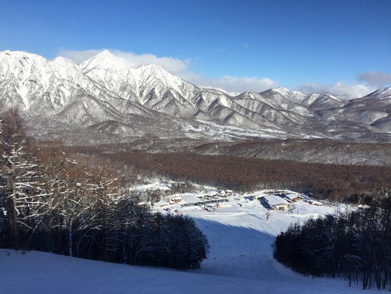 いい天気、いい雪質|戸隠スキー場のクチコミ画像