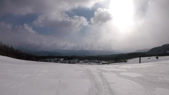 雪質は最高ですが強風が|開田高原マイアスキー場のクチコミ画像