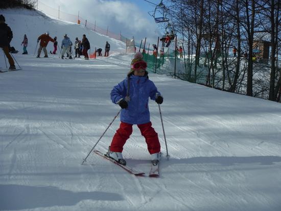 恒例化しつつある、正月スキー|軽井沢スノーパークのクチコミ画像2