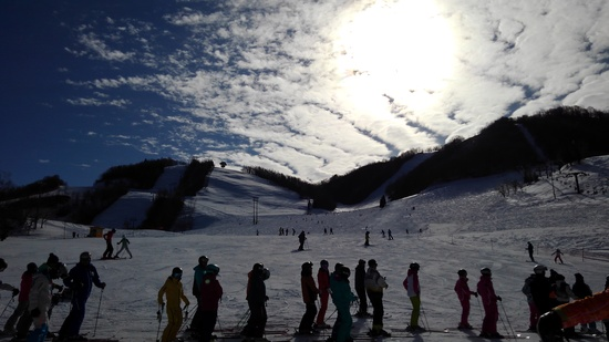 ゲレンデに鰯雲?|飛騨ほおのき平スキー場のクチコミ画像