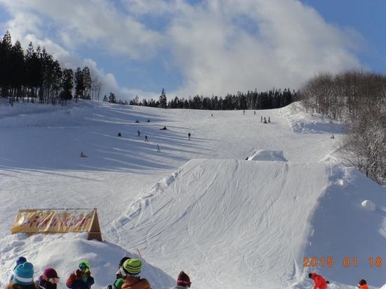 快適ですいているスキー場|福井和泉スキー場のクチコミ画像1