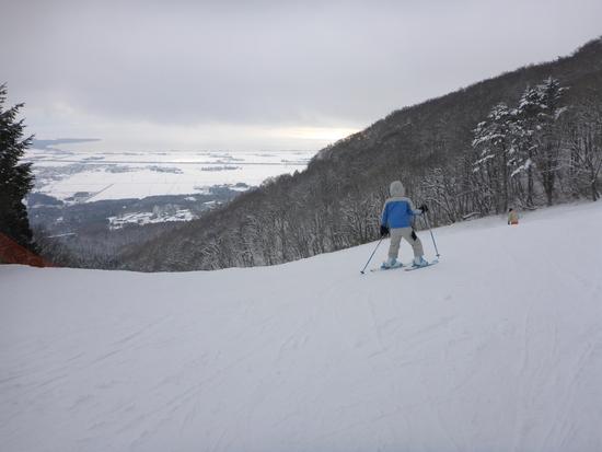 猪苗代湖を見ながら滑れるスキー場 猪苗代スキー場[中央×ミネロ]のクチコミ画像