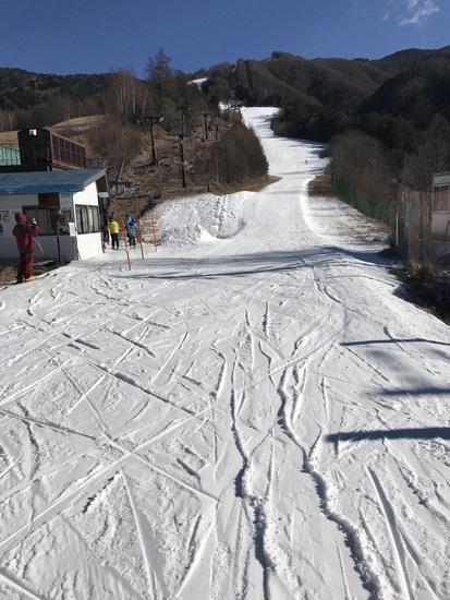まだ、つながってない。|信州松本 野麦峠スキー場のクチコミ画像