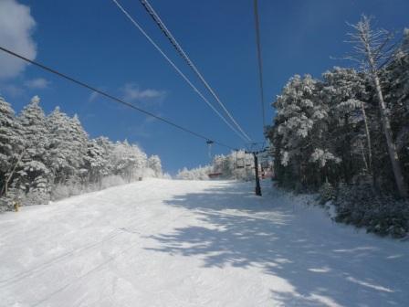めまぐるしい天気|信州松本 野麦峠スキー場のクチコミ画像