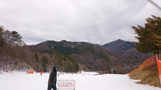 雪不足でも……|治部坂高原スキー場のクチコミ画像