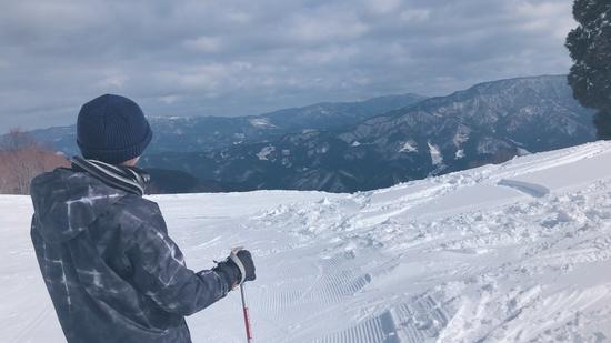 ゆったりと、自分のペースで滑れる広々ゲレンデ|おじろスキー場のクチコミ画像2