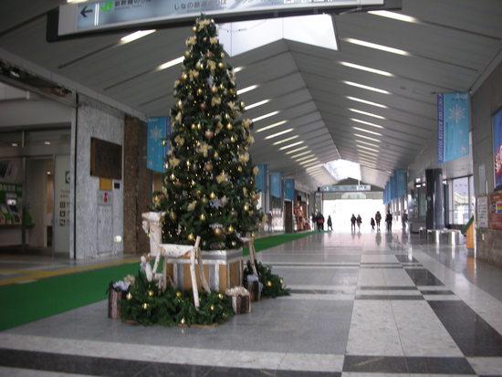 駅前もクリスマス 軽井沢プリンスホテルスキー場のクチコミ画像2