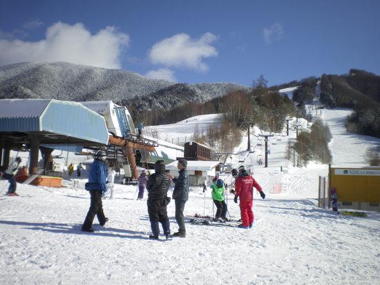 中斜面の広大なゲレンデ|信州松本 野麦峠スキー場のクチコミ画像