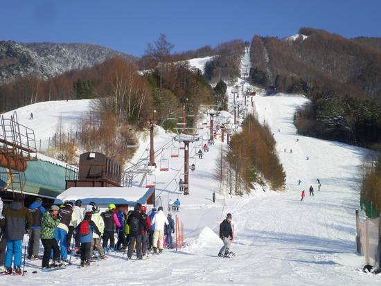 いつ行っても空いている|信州松本 野麦峠スキー場のクチコミ画像