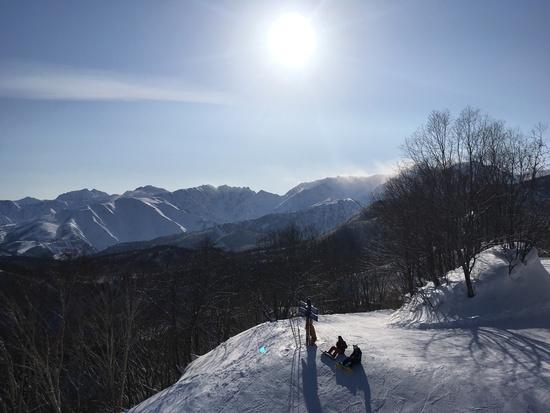 晴れ|栂池高原スキー場のクチコミ画像
