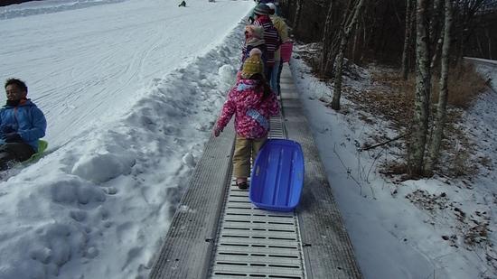 孫の雪遊び|軽井沢スノーパークのクチコミ画像2