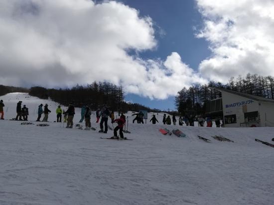 3月2週目までは○か|湯の丸スキー場のクチコミ画像1