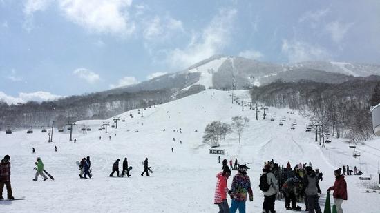 3月でも極上パウダー!|斑尾高原スキー場のクチコミ画像