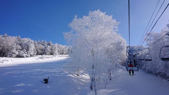 今シーズンの初滑り|ハンターマウンテン塩原のクチコミ画像
