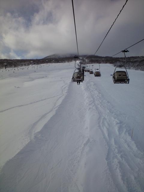 悪くない天気|池の平温泉スキー場のクチコミ画像