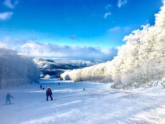 滑れた|蔵王温泉スキー場のクチコミ画像