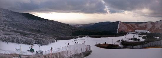 レンブラント光線|九重スキー場のクチコミ画像