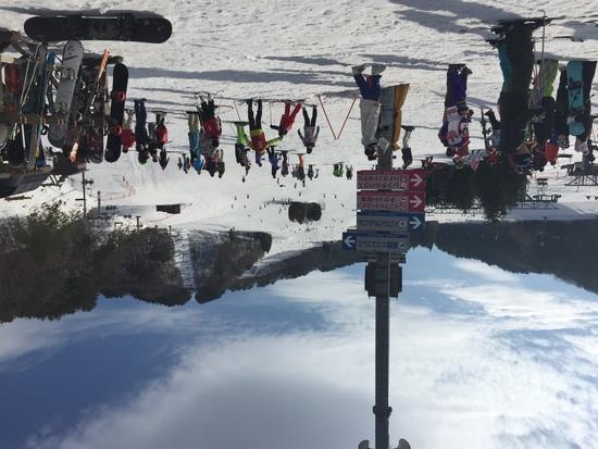 雪不足だったけど|芸北国際スキー場のクチコミ画像