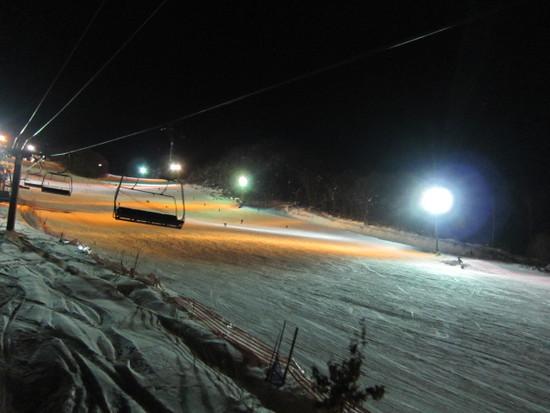 2014/02/15(土) 北海道 キャンモアの速報|キャンモアスキービレッジのクチコミ画像2