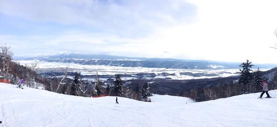 長くて広い|富良野スキー場のクチコミ画像