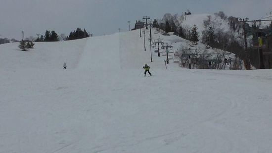 春スキーも終盤に家族4人で利用しました|戸狩温泉スキー場のクチコミ画像