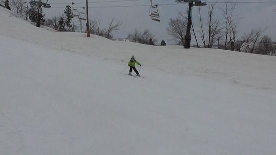 春スキーも終盤に家族4人で利用しました|戸狩温泉スキー場のクチコミ画像2