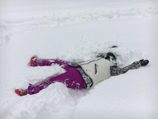 最後の雪|ニュー・グリーンピア津南スキー場のクチコミ画像2