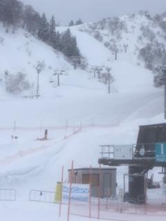 15センチくらいの積雪でした|NASPAスキーガーデンのクチコミ画像