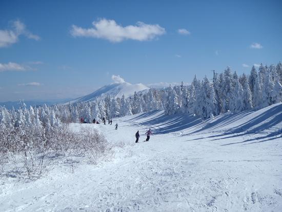 浅間山を見ながら|パルコールつま恋スキーリゾートのクチコミ画像