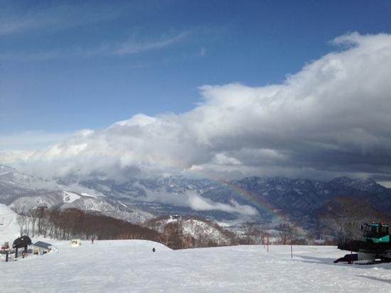 アルプス平に虹が出た|エイブル白馬五竜のクチコミ画像2
