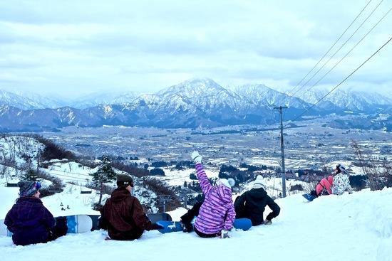 山頂からの景色は最高!!|上越国際スキー場のクチコミ画像