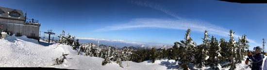 快晴の横手山渋峠|志賀高原 熊の湯スキー場のクチコミ画像