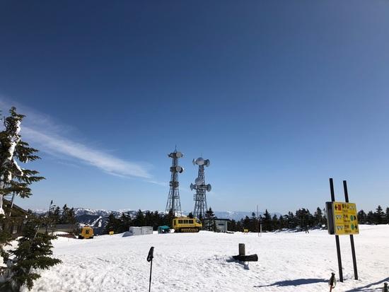 快晴の横手山渋峠|志賀高原 熊の湯スキー場のクチコミ画像2