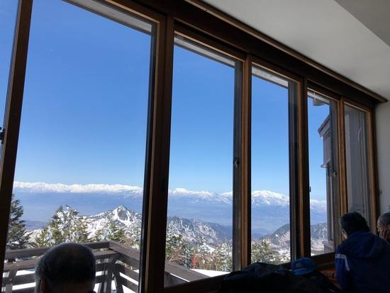 快晴の横手山渋峠|志賀高原 熊の湯スキー場のクチコミ画像3