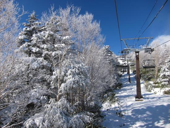 2014/01/11(土) 長野県 おんたけ2240スキー場の速報|Ontake2240のクチコミ画像