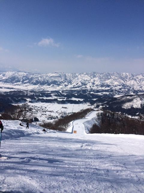 頂上からの眺めはサイコー! 野沢温泉スキー場のクチコミ画像