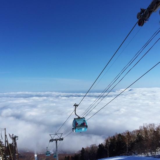 絶景の雲海|安比高原スキー場のクチコミ画像1