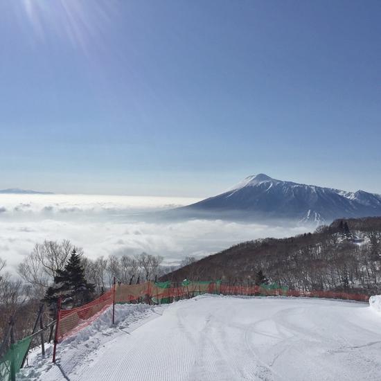 絶景の雲海|安比高原スキー場のクチコミ画像3