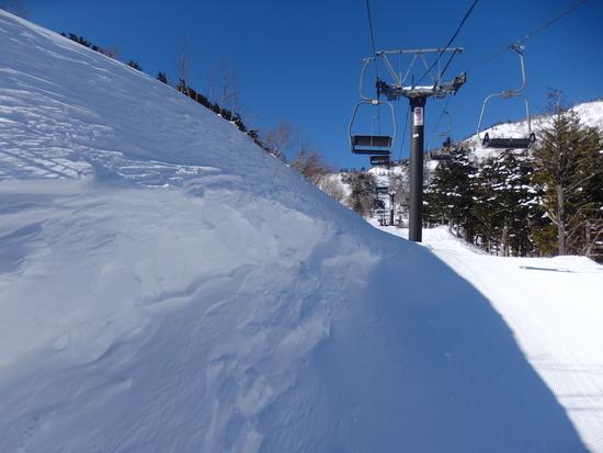 先週の雪でゲレンデ状態が改善されていました|オグナほたかスキー場のクチコミ画像2