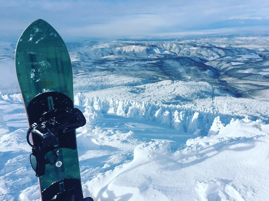 雪山のサーフィン|八甲田スキー場のクチコミ画像