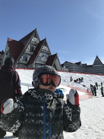 3月も雪質最高! 上越国際スキー場のクチコミ画像