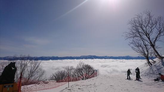 朝、雲海!|斑尾高原スキー場のクチコミ画像