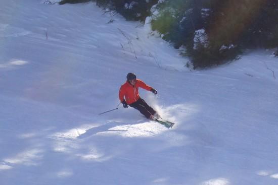 いい雪でした。|信州松本 野麦峠スキー場のクチコミ画像