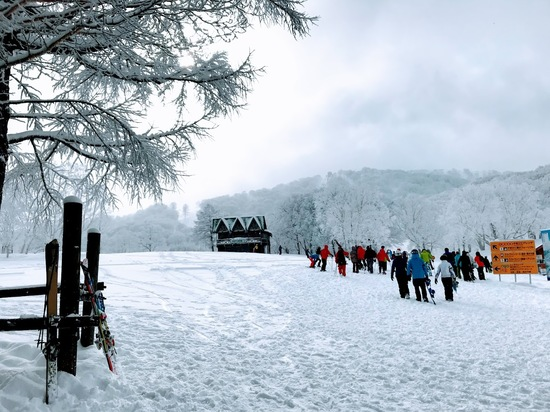 混雑に耐えても行く価値がある、とわかりました|野沢温泉スキー場のクチコミ画像