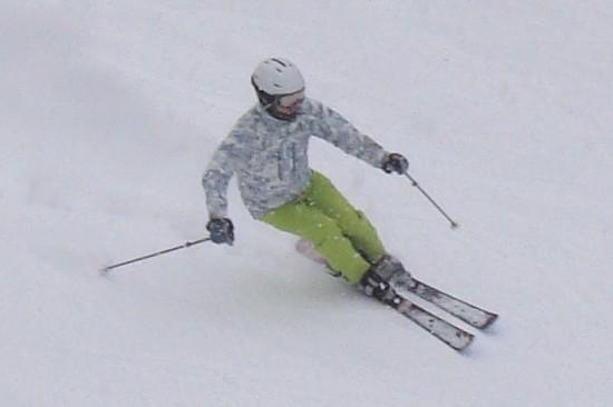 下は雨、上は雪。|信州松本 野麦峠スキー場のクチコミ画像